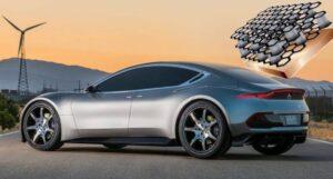 auto elettrica e il sogno batteria a grafene
