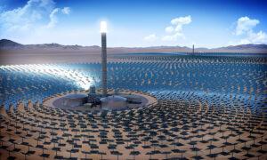 Immagazzinare energia solare con il sale?